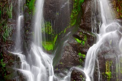 Azores san miguel waterfall