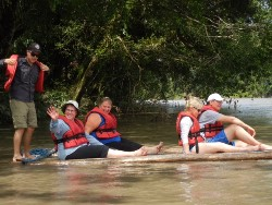 Ecuador amazon raft