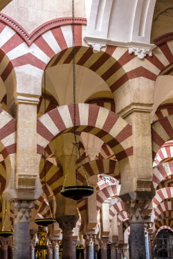 andalusia mosque arches cordoba 250px
