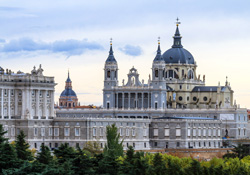 spain madrid almudena cathedral