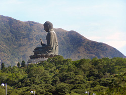 china hong kong bronze big buddha
