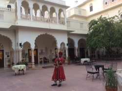 India Ranthambore palace