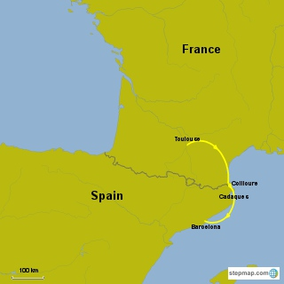 france spain seaside villages stepmap