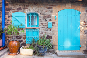 france turquoise door copy